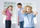 Развод родителей угнетает ребенка так же, как и их смерть