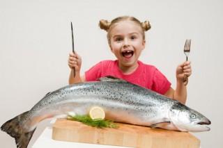 Рыба помогает при нарушениях сна у детей