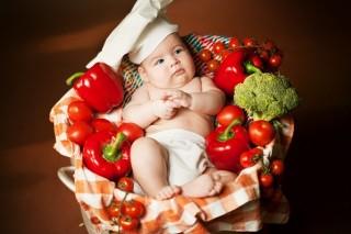 Любовь к овощам прививается в раннем детстве и на всю жизнь