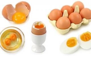 Потребление яиц приносит пользу всему организму